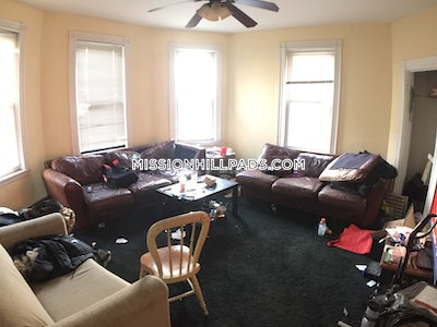 Mission Hill Apartment for rent 5 Bedrooms 2 Baths Boston - $4,800