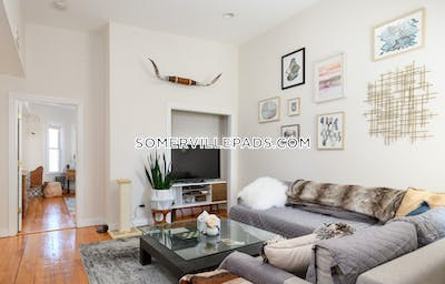 Somerville Apartment for rent 2 Bedrooms 1 Bath  Union Square - $3,000