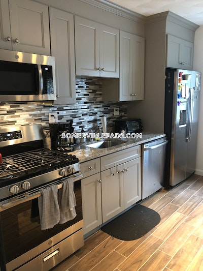 Somerville Apartment for rent 4 Bedrooms 2 Baths  Winter Hill - $3,775